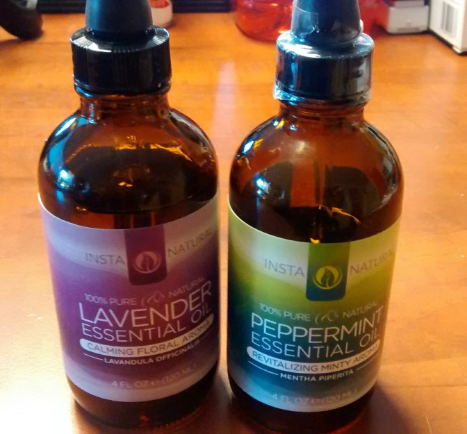 Lavender Or Peppermint Essential Oils For The Home And Body